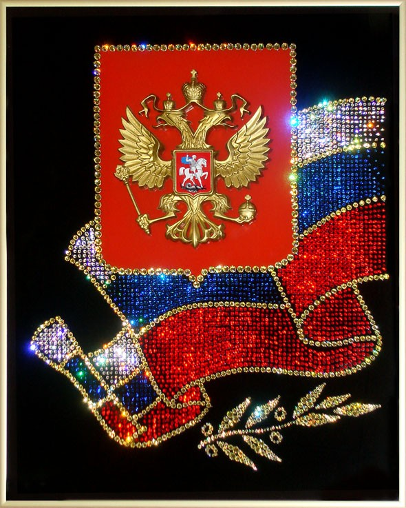 Своими руками герб россии