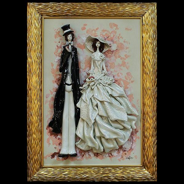 Картины свадебные сделать своими руками 77