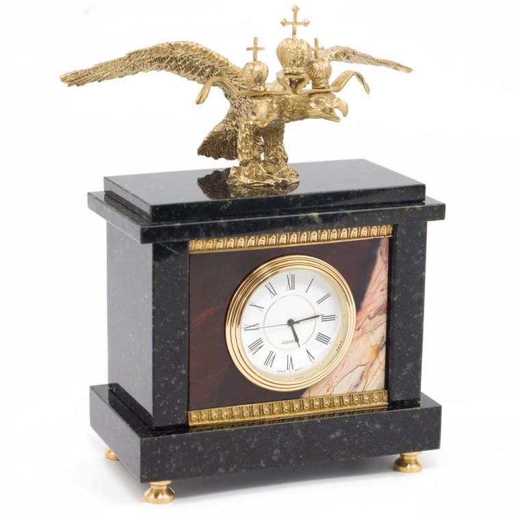 Купить настольные часы из натуральных камней: яшмы