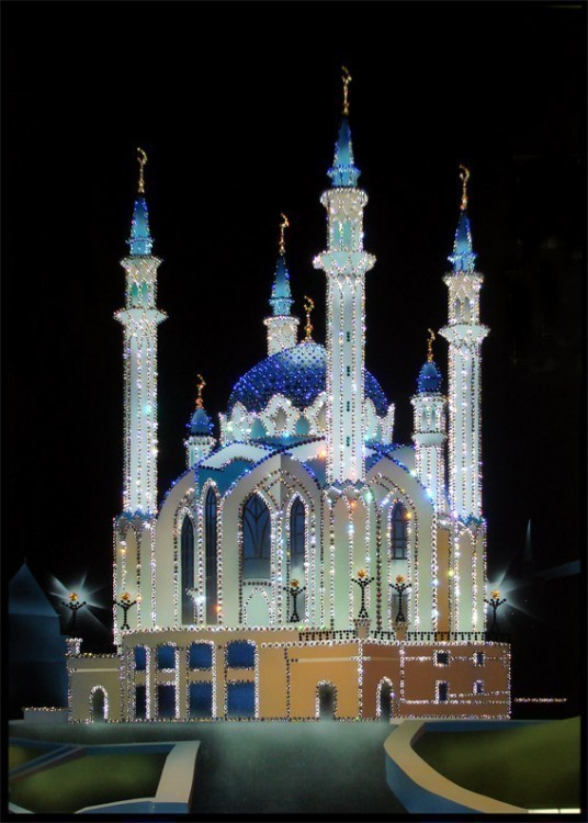 "Картина Swarovski ""Мечеть Кул-Шариф"", 4885 ...: www.eurosuvenir.ru/index.php?productID=1451"