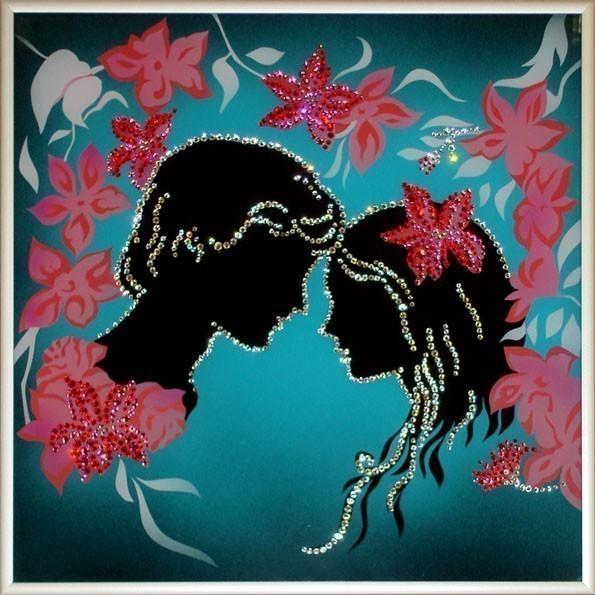 "Картина Swarovski ""Ромео и Джульетта"", 910 ...: www.eurosuvenir.ru/index.php?productID=1478"