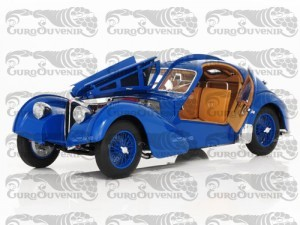 BUGATTI 57SC ATLANTIC 1936 BLUE (SPOKED WHEELS)