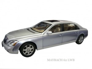 MAYBACH 62 LWB   (NAYARIT SILVER)